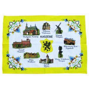 Ręcznik kuchenny żółty Kaszebe GRYF