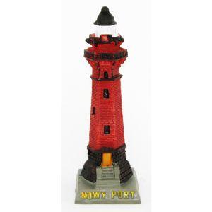 Figurka-poli YG-E043 Latarnia Gdańsk Nowy Port 12cm