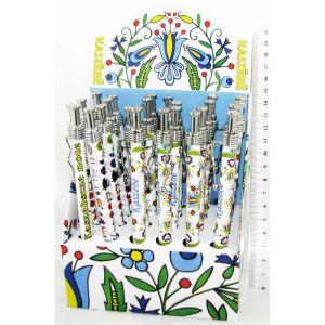 Długopis PE-F1609 chudy Kaszebe