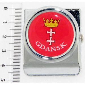 Magnes PE-D692#019-2 Klips m.Gdańsk Herb