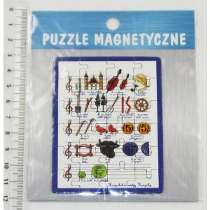 Magnes MC-G1807 Puzzle Nuty Kaszuby