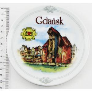 Talerzyk DP-G407 Ceramika 12.5cm Gdańsk
