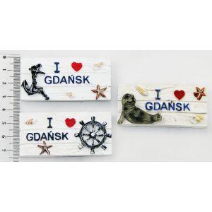 Magnes MC-G1889 deska I Love Gdańsk