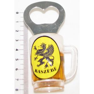 Magnes PE-A114#071-1 Otwieracz Kufel Kaszuby Gryf