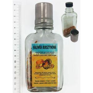 Nalewka-bursztynowa 43 Kieliszek Naklejka pomarańczowa MDB001-B