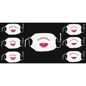 Chusta PE-J3420-A Maska ochronna Usta mix